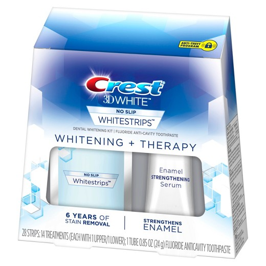 Bělicí pásky Crest 3D White THERAPY so sérem na ochranu skloviny