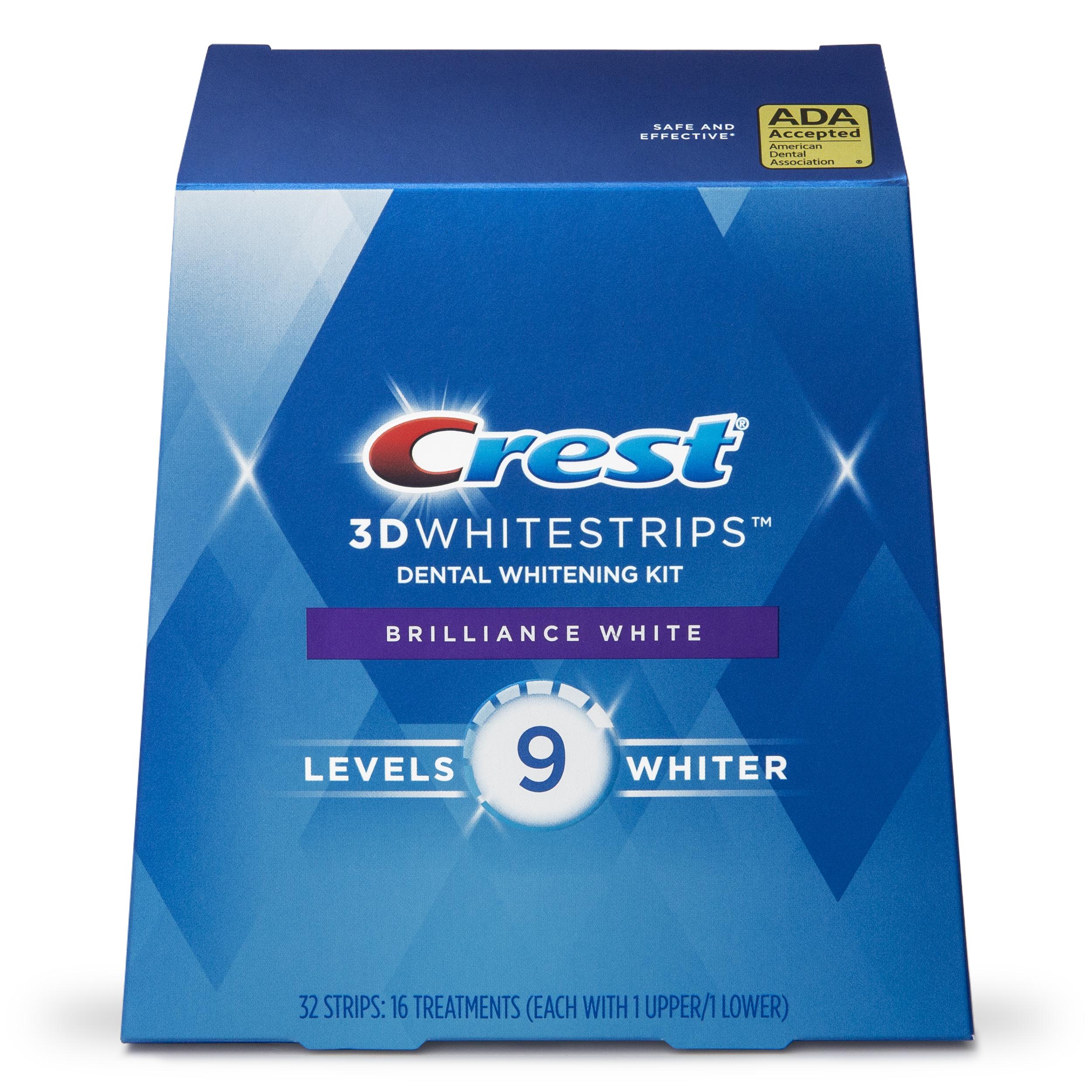 bělící pásky na zuby Crest 3D BRILLIANCE White
