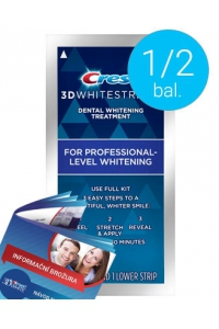 1/2 bal. Crest 3D White Professional Effects